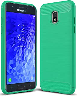 Sucnakp for Samsung Galaxy J7 2018 case, Galaxy J7 V 2nd Gen Case,Galaxy J7 Refine Case,Galaxy J7 Aero,J7 Star,J7 Top,J7 Crown,J7 Aura,J7 Eon,J737V,J737T TPU Protective Case Cover(Mint Green)