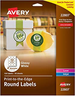 """2"""" Round Labels 600 labels"""