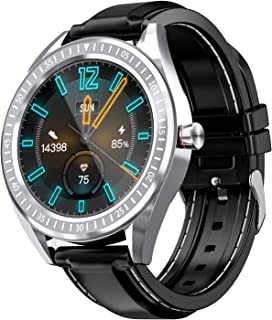 """COULAX Smart Watch, 1.4"""" Touch Screen Smartwatch, Fitness Tracker Step Counter, Activity Tracker with Heart Rate Monitor, IP68 Waterproof Sport Watch for Women and Men"""