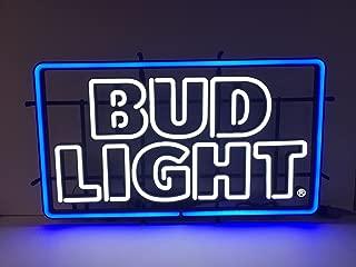 Bud Light Beer - LED Opti NEON Sign - New 2016 Retro Design -