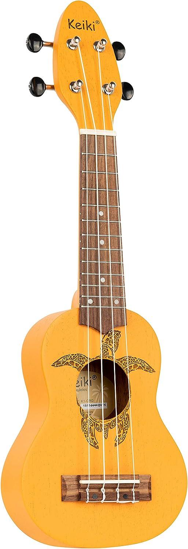 Ortega Guitars 4-String Keiki Series Sopranino Tur Mail Cheap bargain order cheap Ukulele with