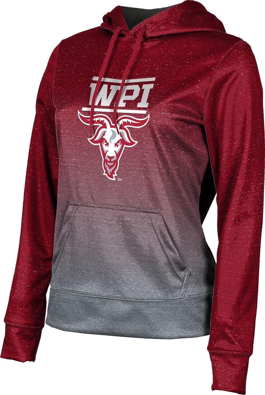 ProSphere Worcester Polytechnic Institute University Girls' Pullover Hoodie, School Spirit Sweatshirt (Ombre)
