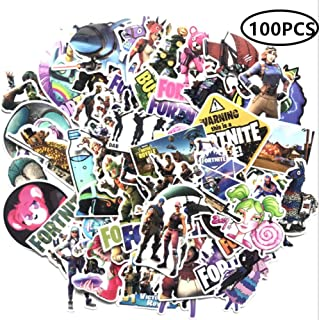 ZIYAN 100PCS Battle Royale Laptop Stickers Anime Waterproof Stickers for Skateboard, Luggage,Helmet,Guitar