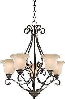 Kichler 43224OZ Camerena Chandeliers Lighting, Olde Bronze 5-Light (27