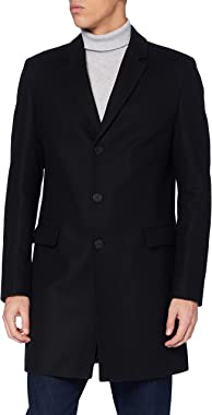 HUGO Manteau de mélange de laine Homme