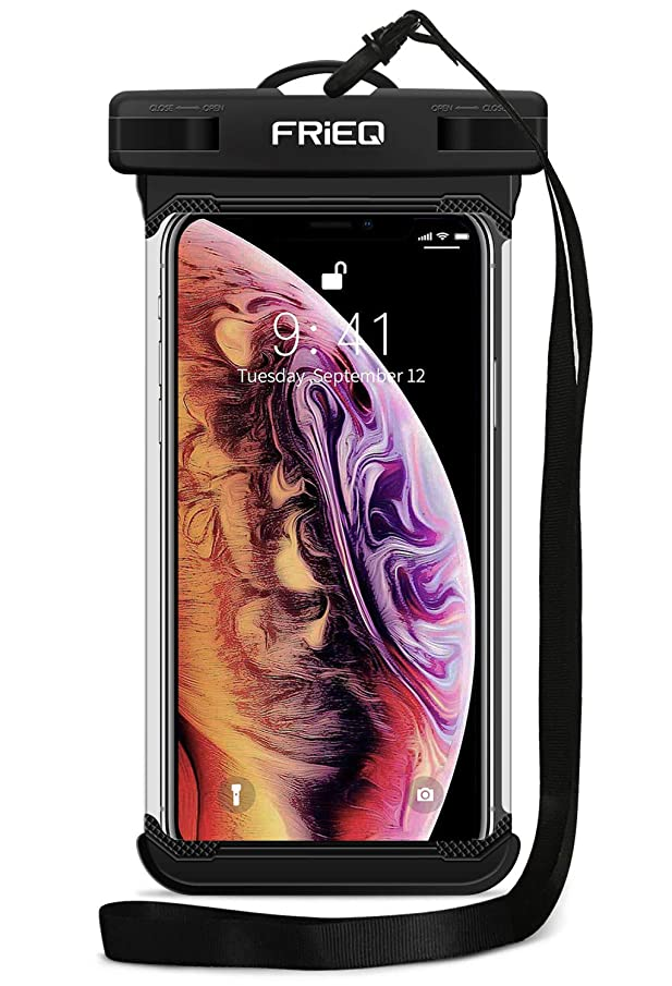 Waterproof Case Cellphone Dry Bag Pouch for iPhone Xs Max XR XS X 8 7 6S Plus, Samsung Galaxy S10 S10e S9 S8 +/Note 9 8, Pixel 3 2 XL HTC LG Sony Moto up to 6.5