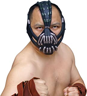 Bane Mask Replica Bronze Version Adult Size for Batman The Dark Knight Rises