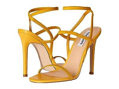 Steve Madden Nectur Heeled Sandals (Yellow) High Heels