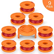 SUERW Line String Trimmer Replacement Spool, 10ft 0.065
