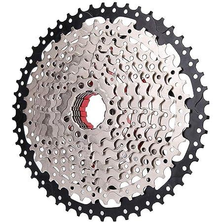 自転車スピードカセット バイクフリーホイールスチール 中空設計 軽量 無負担 高強度 防錆 無変形 耐摩耗性 耐久性 イク交換用アクセサリー