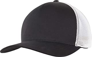 Flexfit 110 Trucker Cap, Black/White, one size