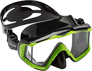 Cressi Large Wide View Mask for Scuba Diving & Snorkeling   Pano 3: designed in Italy