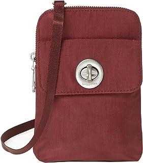 حقيبة صغيرة ليما RFID من باغاليني إنترناشونال، باللون الأحمر الكحلي