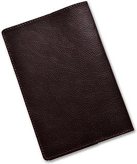 TOLVE(トルヴェ) 本革 ブックカバー 日本製 新書サイズ TO-C008(16.ダークブラウン)