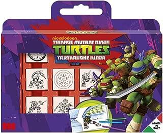 Noris Spiele Multiprint–7884–Teenage Mutant Ninja Turtles Stamp Box–7Pieces