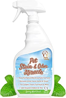 Pet Stain & Odor Miracle – Enzyme Cleaner for Dog and Cat Urine, Feces, Vomit, Drool