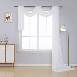 valance living room curtains
