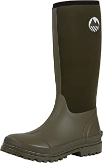 Lakeland Active Men's Rydal Neoprene Insulated Rubber Wellington Boots