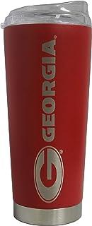 "Georgia Bulldogs 18 oz""The Roadie"" Vacuum Insulated Powder Coated Tumbler"