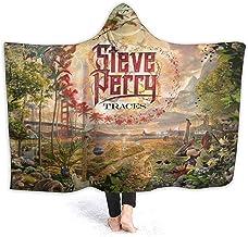 Henry Anthony Traces- Steve Perry Adulto Adolescente con Capucha Suave Moda de Gran tamaño Manto Capa Mantas 50x40 Pulgadas