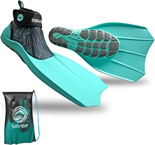 Wildhorn Topside Snorkel Fins- Compact Travel, Swim, and Snorkeling Flippers for Men and Women. Revolutionary Comfort on L...
