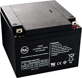 Yuasa NPC24-12, NPC 24-12 12V 26Ah UPS Battery - This is an AJC Brand Replacement