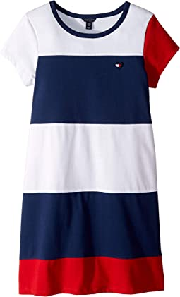 eea36bd1 Tommy hilfiger kids pieced flag tee big kids | Shipped Free at Zappos