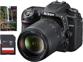 Cámara Nikon D7500 AF-S DX 18-140mm f/3.5-5.6G ED VR (Forma