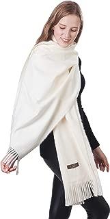 Gift Box Women Soft Cashmere Wool Scarf Large Pashminas Shawl and Wrap Warm Stole Blanket 78