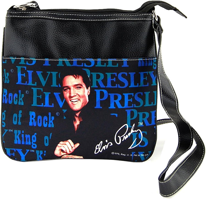 Elvis Presley Canvas Cross Body Bag