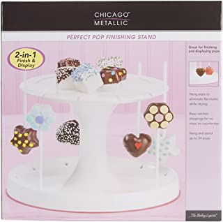 Chicago Metallic CMB057 Marshmallow Collection Perfect Cake Pop Finishing Tree Stand, Holds Up to 24 Sticks