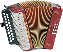 two row button accordion