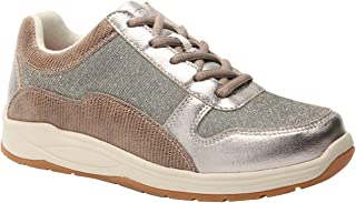 Tuscany Women's Therapeutic Diabetic Extra Depth Shoe Leather/mesh Lace-up
