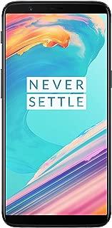 OnePlus 5T A5010 128GB Dual-SIM (GSM Only, No CDMA) Factory Unlocked 4G/LTE Smartphone (Midnight Black) - International Version (Renewed)