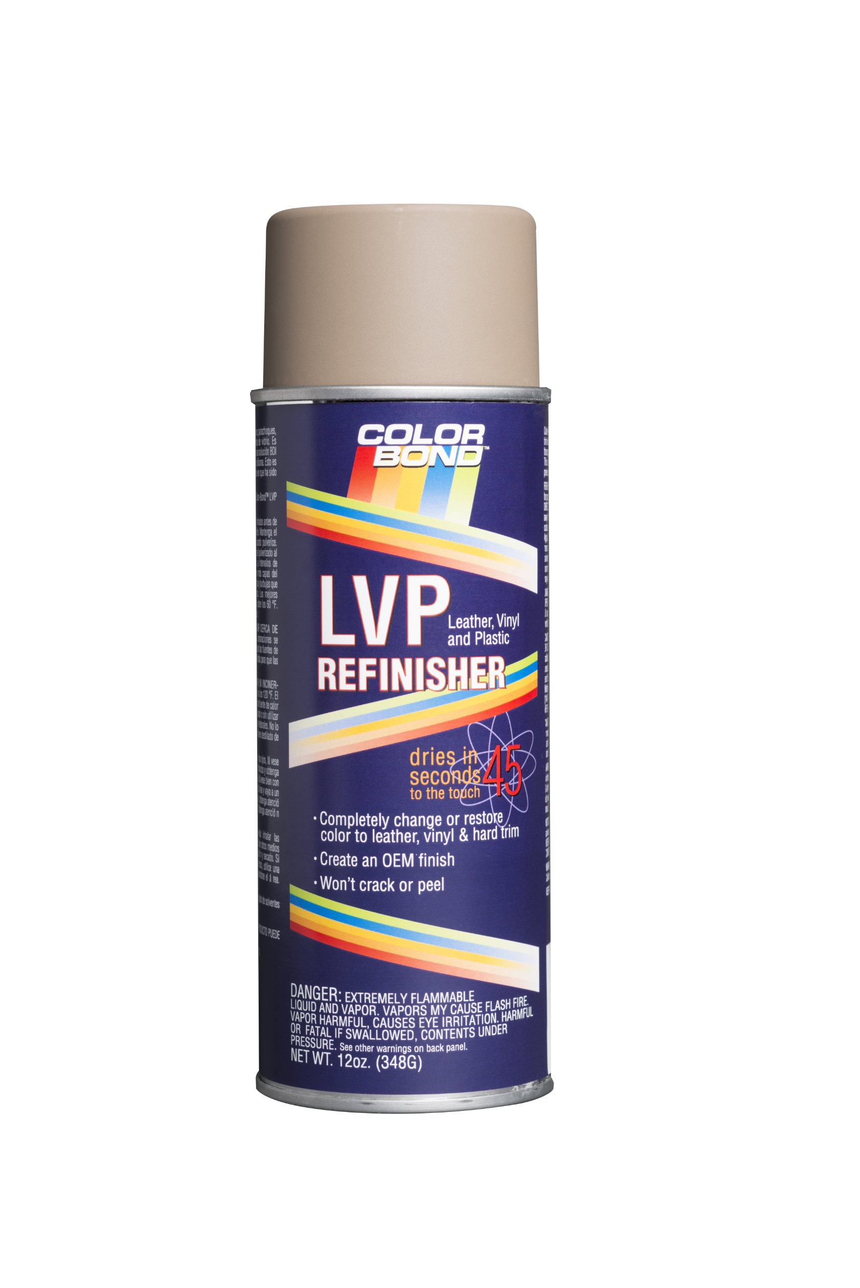 ColorBond (64) GM Crimson LVP Leather, Vinyl & Hard Plastic Refinisher Spray Paint - 12 oz.