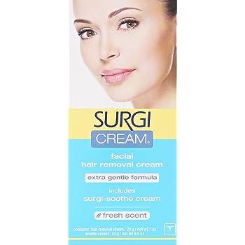 Amazon Com Surgi Cream Hair Remover Extra Gentle Formula For