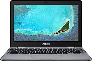 "ASUS - 11.6"" Chromebook - Intel Celeron N3350 - 4GB Memory - 32GB eMMC - Grey"