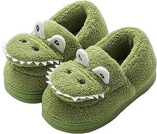 Zapatillas de Estar por Casa para Niñas Niños Dibujos Animados Zapatillas de Interior Suave Cómodo Zapatos Antideslizantes...