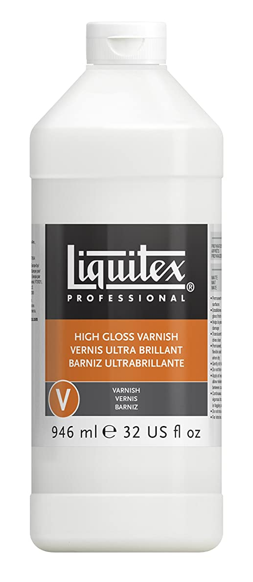 Liquitex 126632 Professional High Gloss Varnish, 32-oz