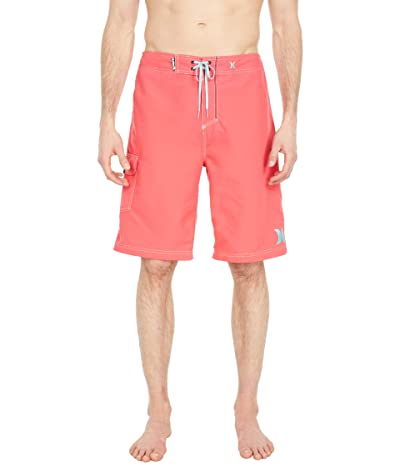 Hurley One Only Boardshort 22 (Light Fusion Red/Tropical Twist) Men