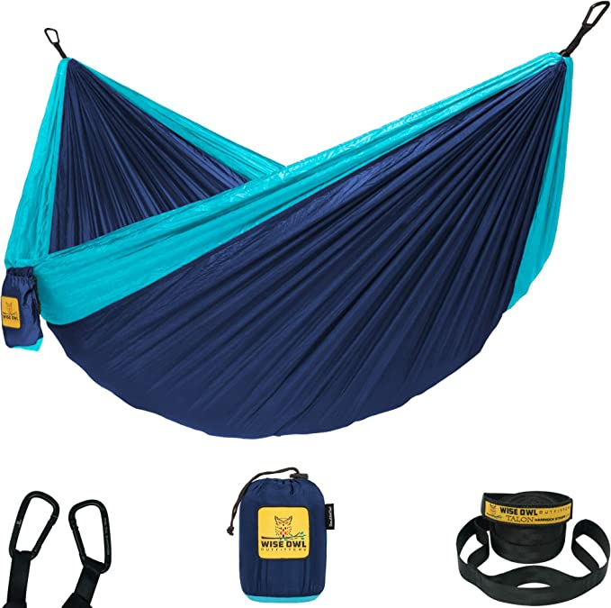 Wise Owl Outfitters Camping Hammocks -The Best Easy Installation