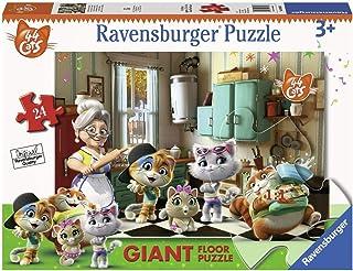 Ravensburger 03004 Puzzle 44 Chats B Puzzle Sol 24 pièces