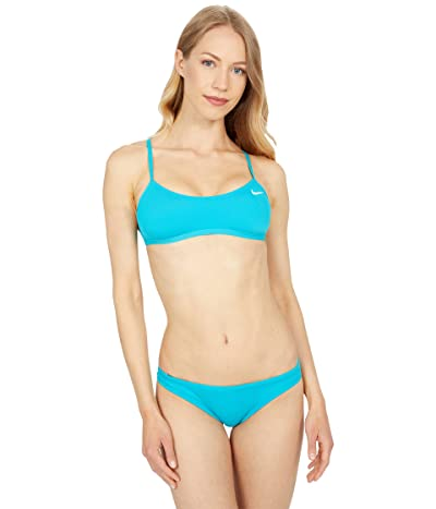 Nike Hydrastrong Solid Cutout Bikini Top Women