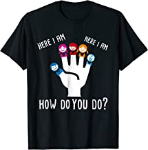 Daddy Finger Family Song Here I Am, How Do You Do? T-Shirt