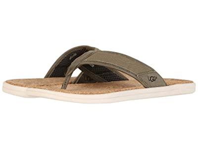 UGG Seaside Flip (Moss Green) Men