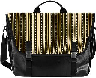 Bolso de lona para hombre y mujer, diseño de rayas de colores