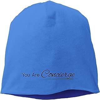 LKSJSADJ You Are Concierge Hedging Hat White