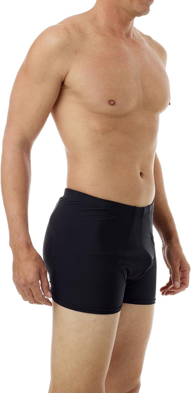 Underworks Men's Padded Rear Boxer Brief for Butt Lift