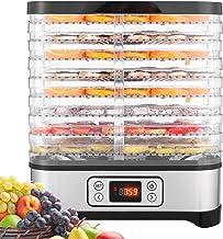 COOCHEER Déshydrateur Aliment 8 Plateaux, Déshydrateur de Légume de Fruit avec Minuterie et Réglages de Température, écran...