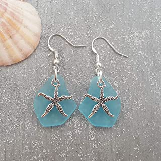 giant starfish earrings